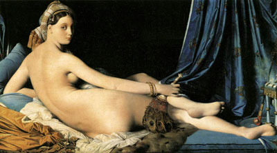 """Grande Odalisque"" by Jean-Auguste-Dominique Ingres"