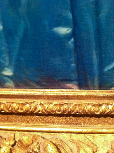 "Detail of ""Princesse de Broglie by Ingres"