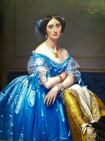 """""""Princesse de Broglie"""" by Jean-Auguste-Dominique Ingres"""